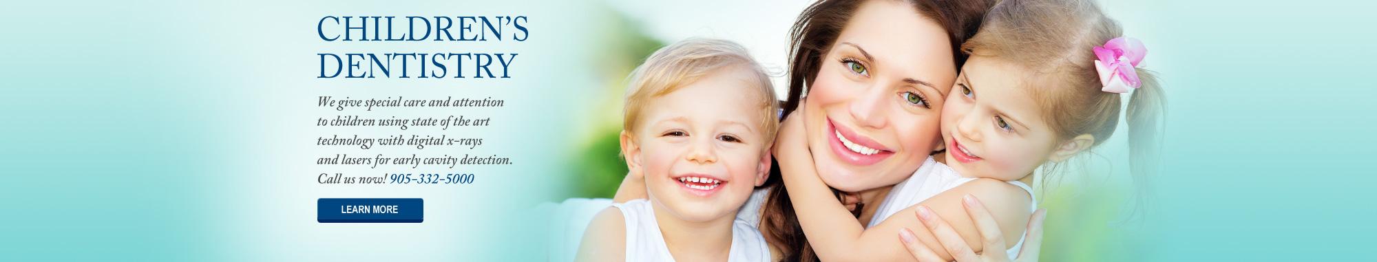 slider children's dentistry